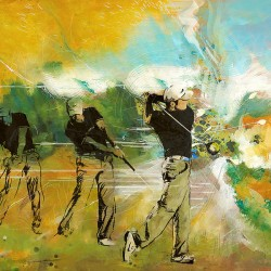 golf abstract